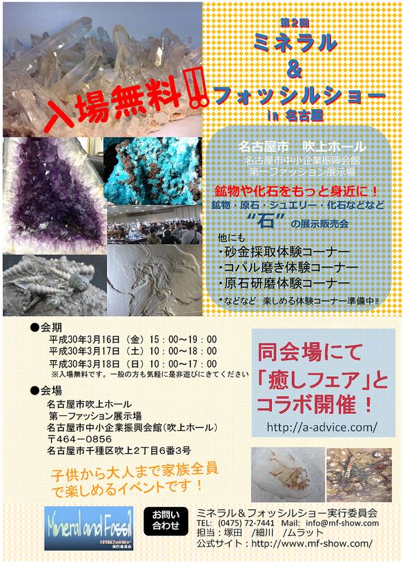 鉱物や化石をもっと身近に!第2回ミネラル&フォッシルショー in 名古屋